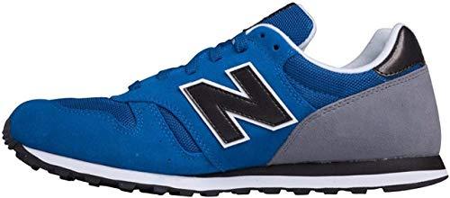 New Balance Ml373 D, Herren Sneakers, Blau (Blue/Black), 40 EU