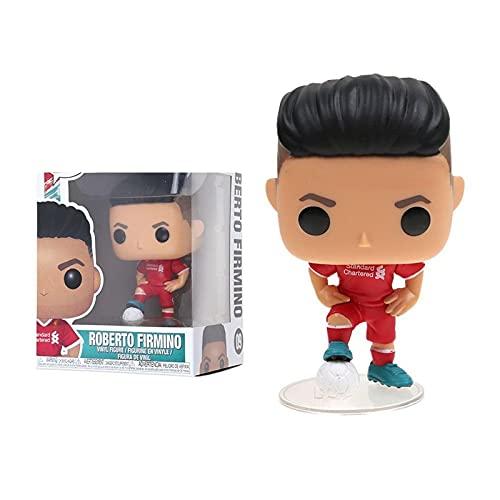 HUAL Figuras Pop Manchester United Y Liverpool Firmino # 09 Figura De Acción De Vinilo De Juguete...