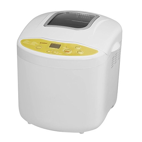 Breadman TR520 Programmable Bread Maker for 1, 1 ½ , and 2-Pound Loaves, Cream,White