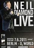 Neil Diamond - Berlin, Berlin 2011 » Konzertplakat/Premium