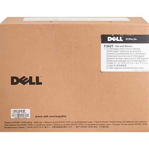 Dell F362T Toner Cartridge 5230n/5230dn/5350dn Laser Printers,Black,7 x 12 x 16