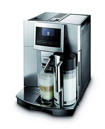 DeLonghi ESAM5500M.EX2 Perfecta Cappuccino Kaffeevollautomat silber/graumetallic