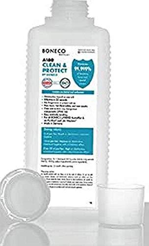 BONECO Higienizante Clean & Protect 1l A180 - Desinfección con base de sal marina - Para humidificadores híbridos, purificadores de aire o purificadores humidificadores