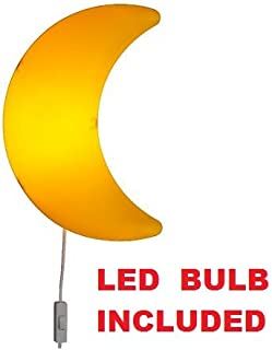Ikea Moon Wall Lamp LED E12 200 Lumen (Bulb Included) Yellow