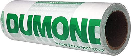 Dumond Paint Removal Laminated Paper- Speeds up the Paint Removal Process, Controls Lead Paint Emissions, Easy Disposal of Paint...