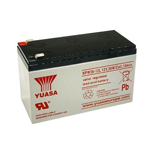 Batteria al piombo per UPS 12V-7Ah. YUASA NPW36-12