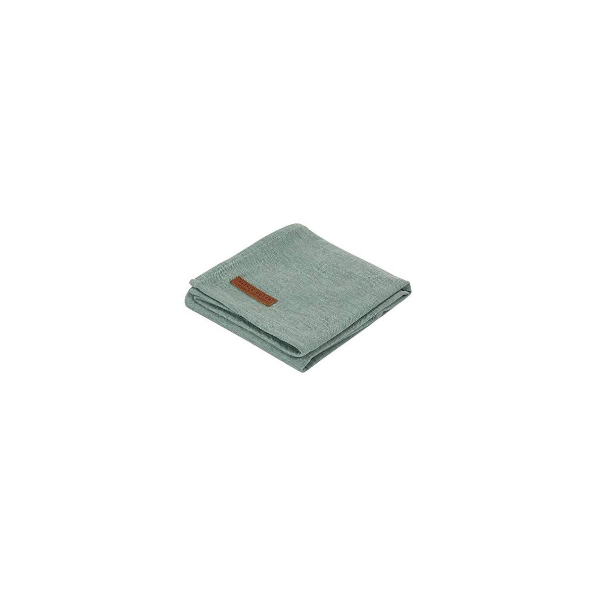 LITTLE-DUTCH-Muslin-TE50330113-Juego-de-panos-de-muselina-70-x-70-cm-color-gris-y-verde