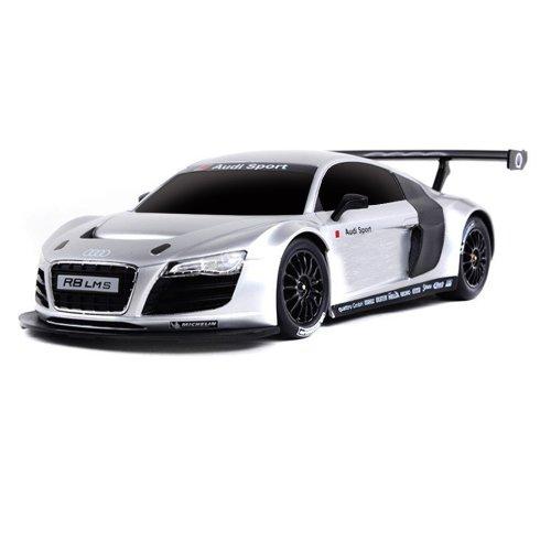 Audi R8 LMS-Edition - RC ferngesteuertes Lizenz-Fahrzeug im Original-Design, Modellbau-Maßstab 1:24, Ready-to-Drive, Auto inkl. Fernsteuerung, Neu