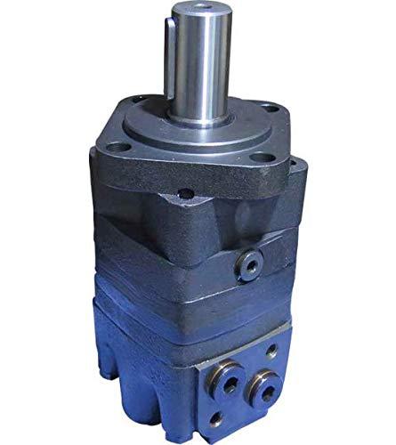 Hydraulikmotor M+S MSE_C, Schluckvolumen wählbar von 80 cm3/U – 565 cm3/U, Anschlüsse (hinten): G 1/2'', Welle: Ø 32 mm zylindrisch Größe 200 ccm