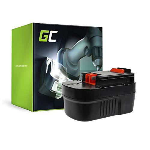 GC® (3Ah 14.4V Ni-MH) A14 A144 FSB14 HPB14 A144EX A14F A1714 B-8316 BD1444L BPT1048 499936-34 499936-35 Batterie pour Black&Decker CP14K CD14SFK CL14K CP14K CP141K EPC14 EPC14CA