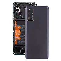 Huawei社の名誉のために30のカメラレンズカバー付きオリジナルバッテリー裏表紙 (色 : Black)