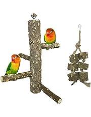 Allazone Posatoi Pappagalli, Giocattolo per Pappagalli Uccello Domestico Piattaformaper Pappagalli, Conuri, Uccelli, Fringuelli