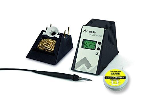 ERSA i-CON nano elektronisch geregelte Lötstation 80W mit Standby antistatisch inkl. 1m Lötdraht