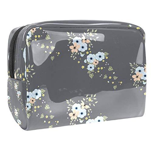 Tragbare Make-up-Tasche mit Reißverschluss, Reise-Kulturbeutel für Frauen, praktische Aufbewahrung, Kosmetiktasche, Scrapbooking