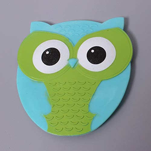 SDARISB 4pcs Cartoon Animal Anti-slip Mat Baby PVC Bath Mat Tub Safety Stickers Bath Protect Bathroom Products For Kids - 4pcs