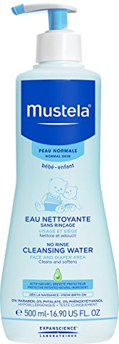 Mustela No Rinse Cleansing Water Face &