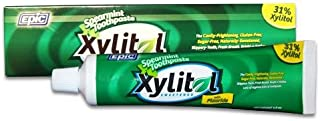 Epic Dental Fluoride and Xylitol Toothpaste, 4.9 Ounce