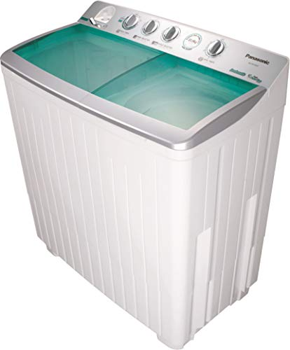 Panasonic 13 Kg Twin Tub Semi Automatic Washing Machine, White – NAW1301TLR, 1 Year Warranty