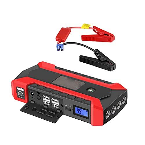 Diaod Arrancador de Emergencia para Coche de 12 V, Potencia de Arranque, Fuego Doble Respaldo, arrancador, Cargador, Banco de baterías, Dispositivo de Arranque