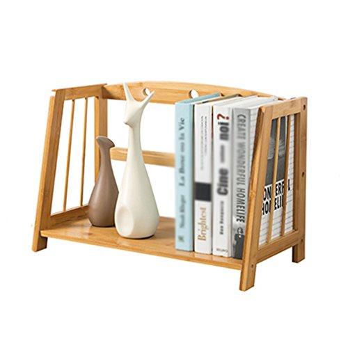 LSLS Almacenamiento De Oficina Escritorio Estante De La Mesa Estante De Almacenamiento De Archivo De Diseño De Escritorio Tipo Caja del Cajón Estante para Libros (Size : S)