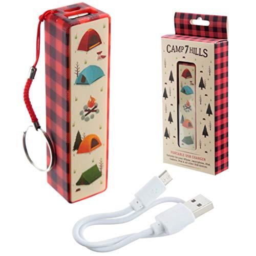 Porte-cl?+Chargeur+USB+Portable+-+Camping+Voyages+&+Vacances