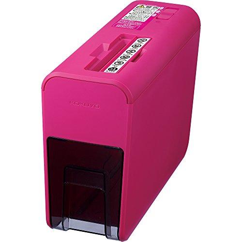 【Amazon.co.jp限定】 コクヨ シュレッダー マイクロカット ピンク AMS-MC20P