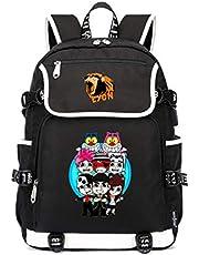 Team WGF Lyon Uomo compatto e leggero zaino mini borsa da trekking ad alta capacità daypack portatile scuola viaggio borsa da viaggio luce all'aperto sacchetto di scuola elegante unisex