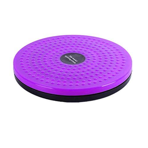 Equipo de aptitud de la placa de equilibrio del disco de la torsión de la cintura de la cintura de la cintura para el ejercicio de la placa de masaje de deportes aeróbicos del cuerpo aeróbico,Púrpura