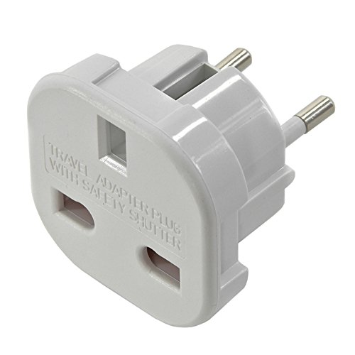 Energaline 60121 – Engelse adapter stopcontact 16 A, wit