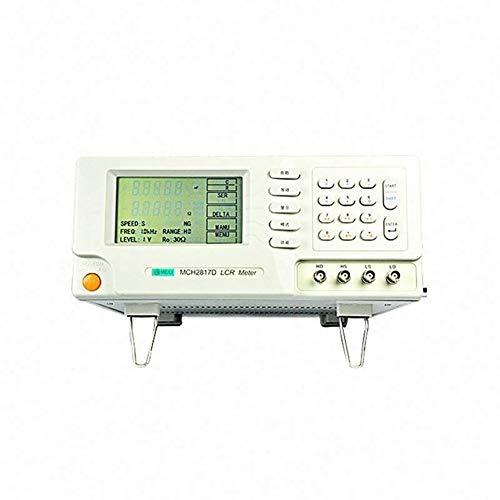 Précis Utilisation typique de laboratoire de la fréquence MCH-2817D de test de fréquence de test typique du compteur 240 * 128 de LCR Digital de 10kHz LCR Durable (Size : 198-242V)
