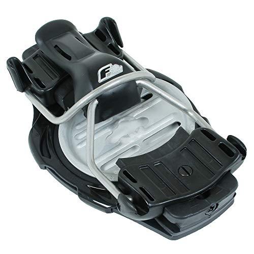 F2 Herren Snowboardbindung Race Titanium Black