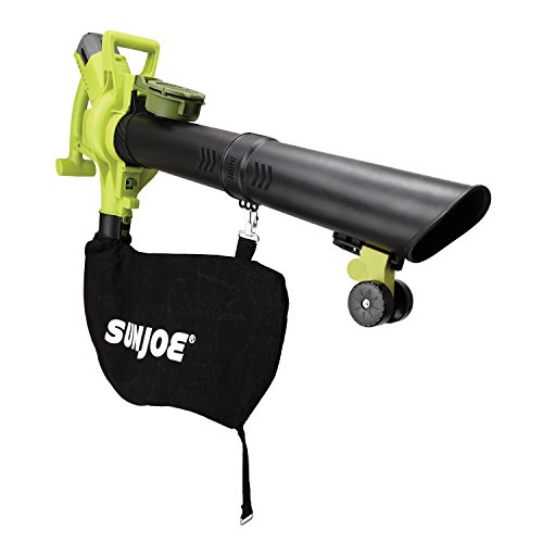 Sun Joe iONBV 40-Volt Variable-Speed Cordless Blower/Vacuum/Mulcher, Kit (w/4.0-Ah Battery + Quick Charger)
