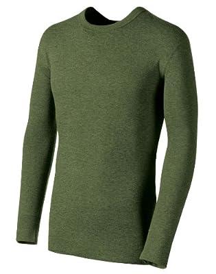 Champion Men's Duofold Originals Wool-Blend Men's Thermal Shirt Olive Heat X-Large