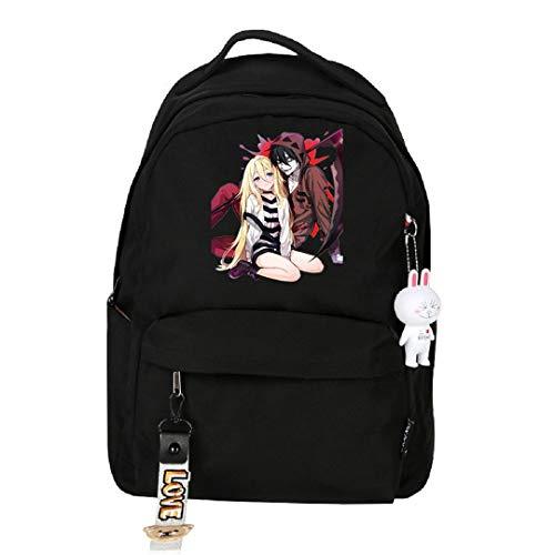 Anime Angels of Death Rucksack, Cosplay, Büchertasche, Tagesrucksack, Laptoptasche, Schultasche