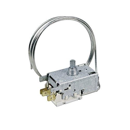 Thermostat Kühlthermostat Kühlschrank Kühl-Gefrierkombination Original Whirlpool Bauknecht 481228238084 Indesit C00311858 Ranco K59-S1899/500 690mm Kapillarrohr 3x6,3mm AMP Ersatz für Atea A13-0584H