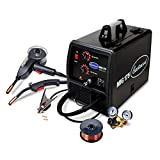 Eastwood 175 Amp MIG Welder with Spool Gun for Steel Aluminum Flux-Core Weld 220V Powered