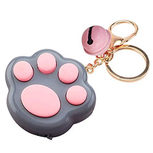 Pop Fidget Toy Schlüsselanhänger, niedliche Katzenkralle, Schlüsselanhänger, Schlüsselanhänger, hängende Dekoration, für Damen, Mädchen, Handytaschen, Ornamente