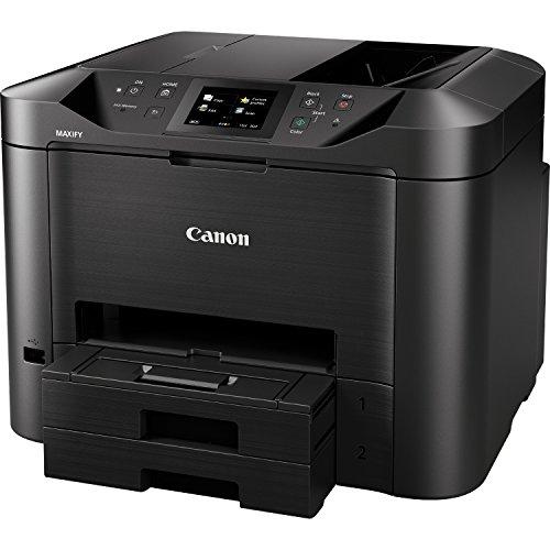 Canon MAXIFY MB5450 Inyección de Tinta 24 ppm 600 x 1200 dpi A4 WiFi - Impresora multifunción (Inyección de Tinta, Impresión a Color, 600 x 1200 dpi, Copia a Color, A4, Negro)