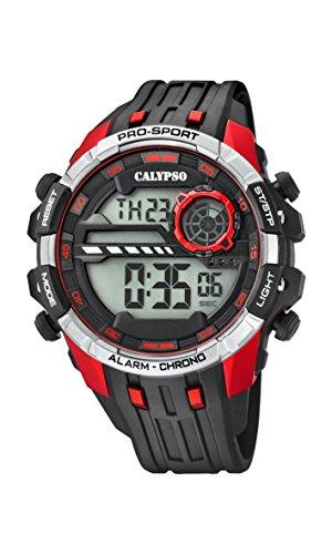 Calypso Reloj Digital para Hombre de Cuarzo con Correa en Plástico K5729/4