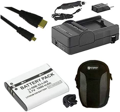 Olympus Stylus Tough TG-850 SEAL limited product Digital Camera Accessory Kit Include Spring new work
