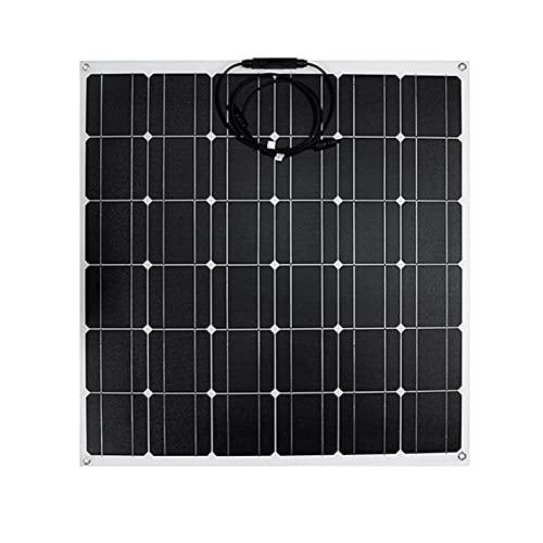 Pannello Solare in ETFE da 600 W Inverter per Sistemi Fotovoltaici Domestici da 12 V Kit Completo Caricabatteria A Celle Solari per Auto in Barca Campeggio,10a