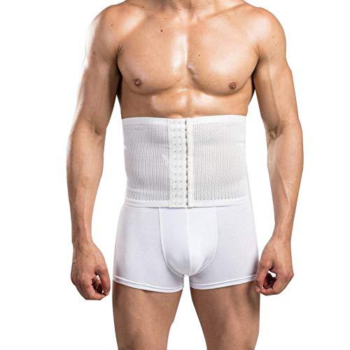 Men es Waist Trainer, Steuerungsgurt-Formband Breathable Lumbar Support für Sport Schlankheitskur Stomach Belt Sweat Gym Zubehör für,XL