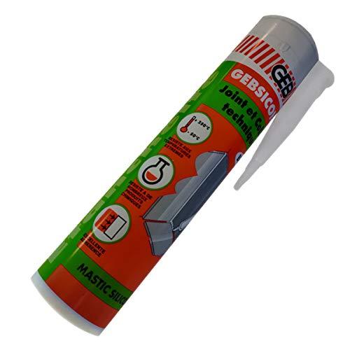 BRANDT - CARTOUCHE SILICONE 1/2 CUVE BRANDT POUR CUVE PLAST