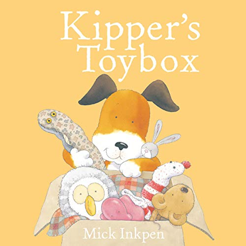 Kipper: Kipper's Toybox cover art