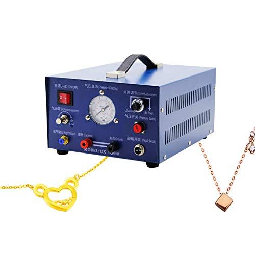 MXBAOHENG Pulso Argon Spot Soldador 400W Joyería de soldadura Oro Plata Platino Paladio (110V 60HZ)