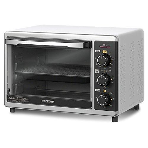 アイリスオーヤマ コンベクションオーブン スチームトースター ノンフライヤー グリル機能 15L PFC-D15A-W ホワイト
