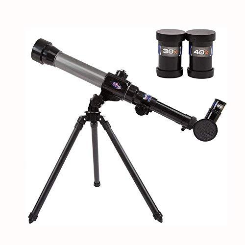 WNN-URG Astronomische Fernrohr for Kinder Spielzeug Einrohr-20 * 30 * 40cm Cognitive Experiment Lehrmittel Wissenschaft Weiß Lernspielzeug URG