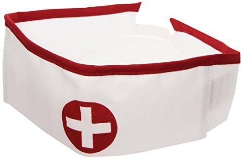 Widmann Krankenschwester Kostüm Fun Hüte Kappen & Kopfbedeckung für Kostüme Zubehör
