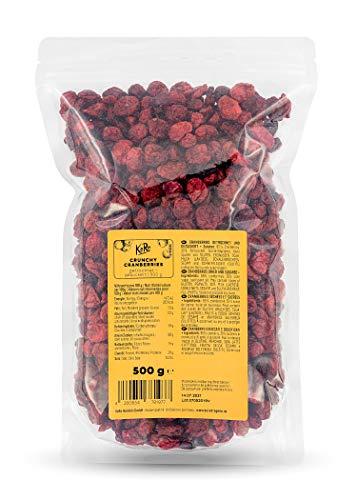 KoRo - Crunchy Cranberries - 500 g - Crunchy - Vegan - Frucht