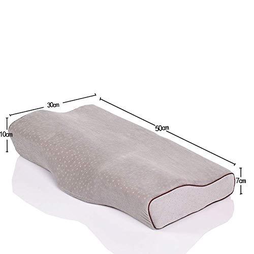Memory Foam Butterfly Pillow, Orthopädische Kissen Gegen Nackenschmerzen Ergonomisches Zervixkissen Für Seitenschläfer, Rücken- Und Bauchschläfer Mit Abnehmbarem Waschbarem Kissenbezug